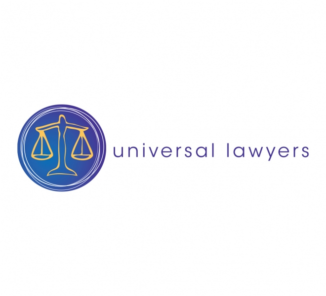 Universal Lawyers logo design graphic design Newcastle NSW