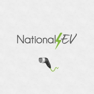 National EV logo graphic design Newcastle NSW
