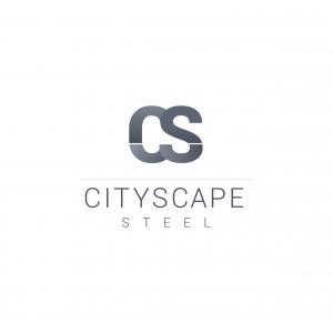 Cityscape Steel logo design Newcastle Sydney NSW graphic design