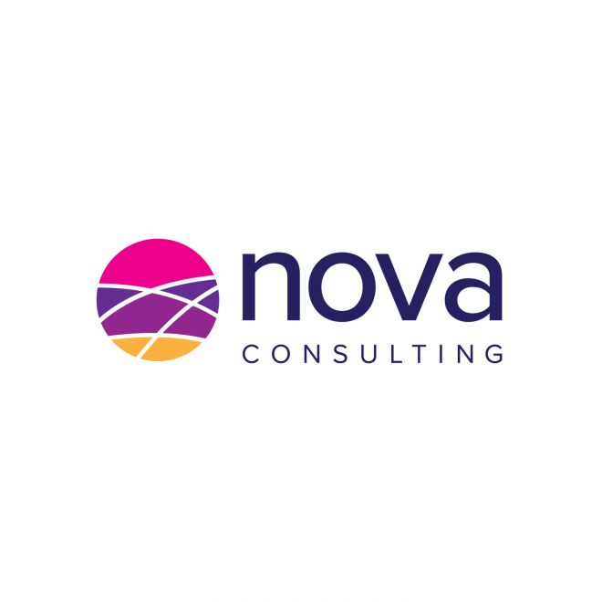 Graphic Design Logo Design and branding for Nova Consulting based in Newcastle NSW