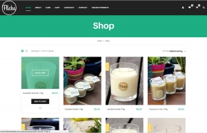 Website design and website development for Newcastle based handmade business Flicka Handmade