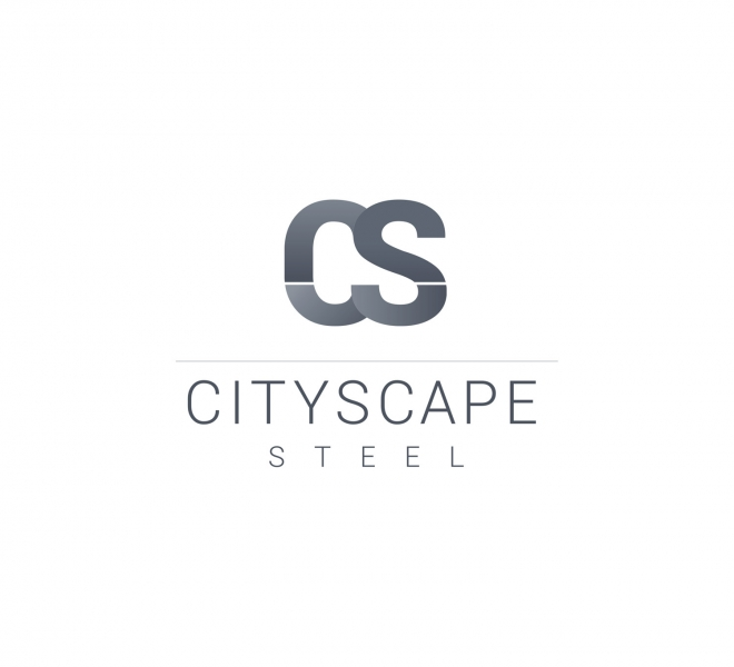 Graphic design, Logo Design and branding for Sydney based bespoke steel window manufacturer Cityscape Steel.