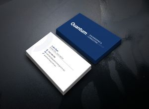 Graphic design, Logo Design, branding and business card for Newcastle based engineering company, Quantum Engineering and Consulting