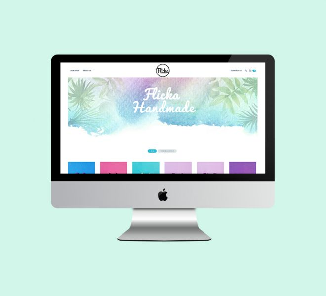 Flicka Handmade Website Design Web Development Newcastle